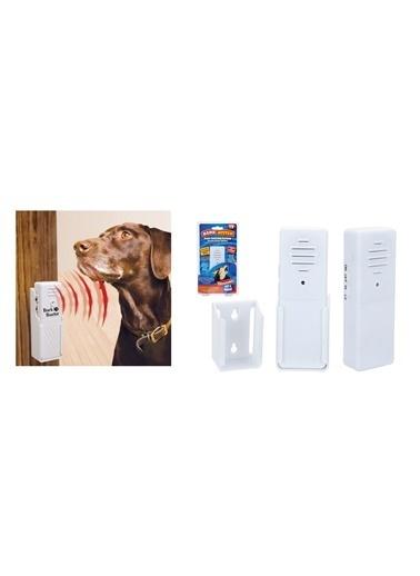 Bosphorus 12 X 4 X 3 Cm Köpek Eğitici Kovucu Uzaklastırıcı Ultrasonik Ses Yayıcı Cihaz Beyaz